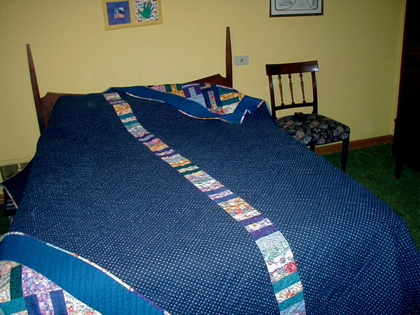 judy\'s quilt back