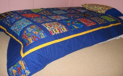 air bed quilt