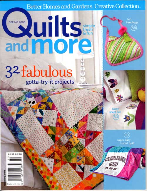 Magazine Review: Quilts And More « Crackpot Quilters' Blog