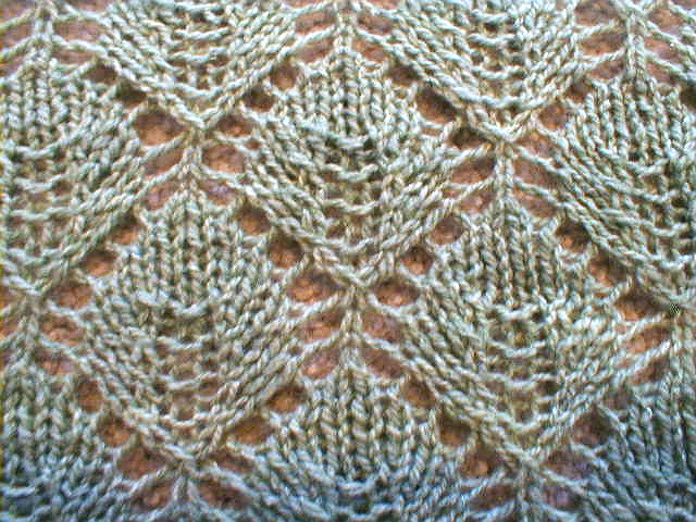 Knitting Pattern Leaf Lace : Leaf Lace Scarf Pattern Car Pictures - Car Canyon