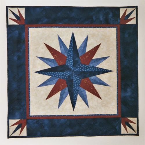 Quilting Patterns Mariner S Compass : Mariner s Compass Quilt Crackpot Quilters Blog
