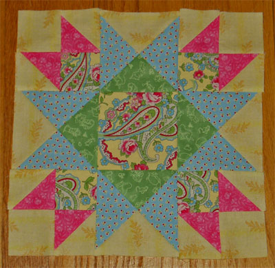 One Union Square quilt block